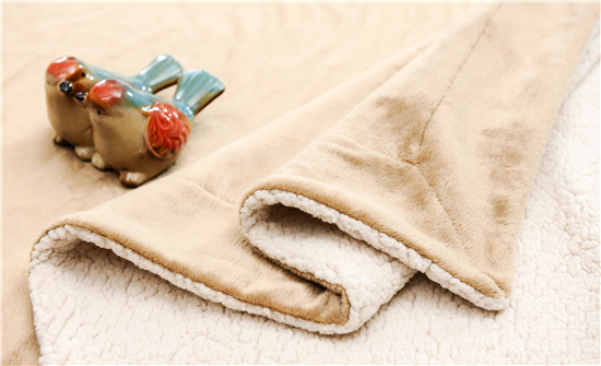 Promotional Useful Life Comfort Sherpa Blanket