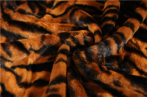 100% Polyester Thick Soft Animals Skin Pv Faux Fur Blanket