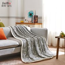 Oem Jacquard Quilt Home Flannel Blankets In China Factory