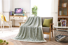 Special High Quality Printed Velvet Fabric Flannel Blanket