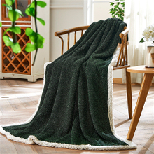 Wholesale Purl Newest Jacquard Super Soft Flannel Blankets