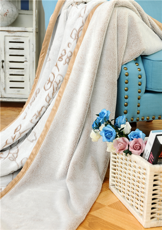 Wholesale New Design Printed Good Quality Flannel Blanket