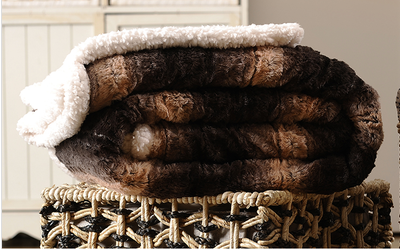 china factory supply faux fur blanket
